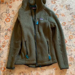 Patagonia zip up hooded jacket